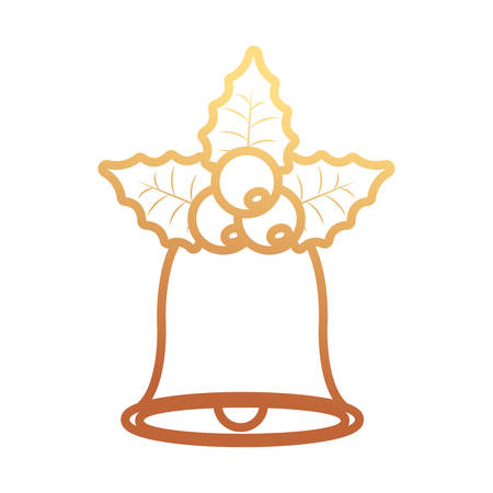 Christmas bell icon.