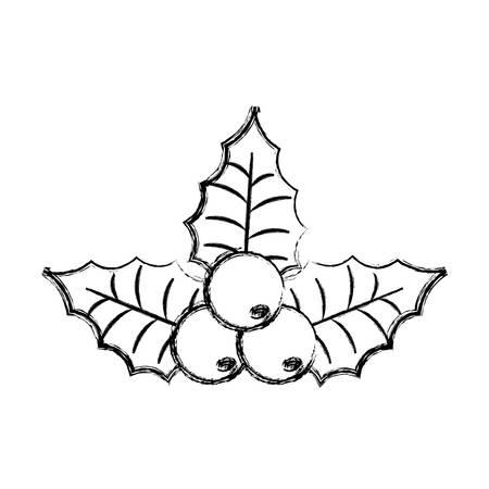 christmas pick vector illustration Illustration