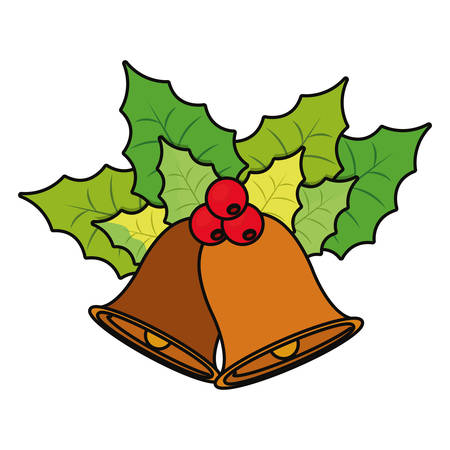 christmas bells icon Illustration