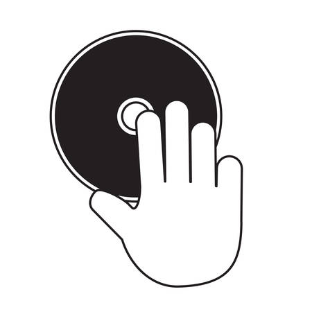 CD Rom icon Illustration