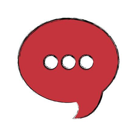 speech bubble concept design