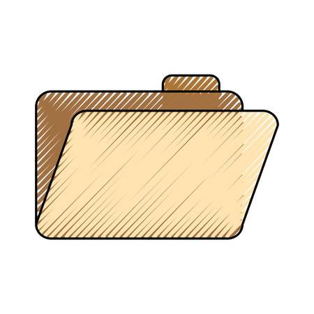 folder file  vector illustration