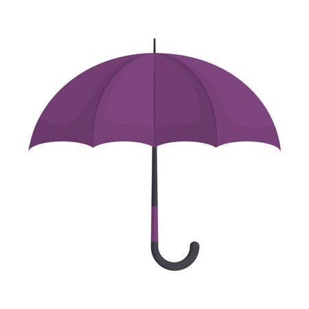 kleurrijke umbrela over witte achtergrond vector illustratie