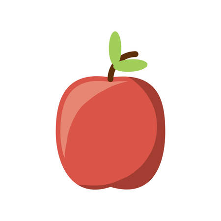 Apple fruit icon. Illustration