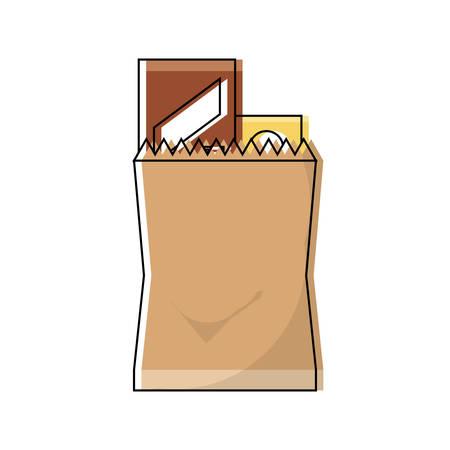 grocery bag design concept