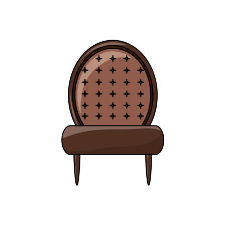 accent chair icon vector illustration.