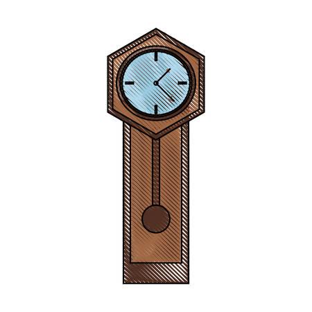 Antike Uhr Symbol Bild Standard-Bild - 91588868