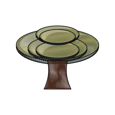 tree icon image 일러스트
