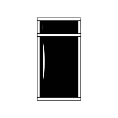 Fridge icon image Vectores