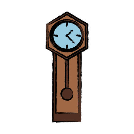 Antike Uhr Symbol Bild Standard-Bild - 91590054