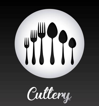 Silver cutlery collection