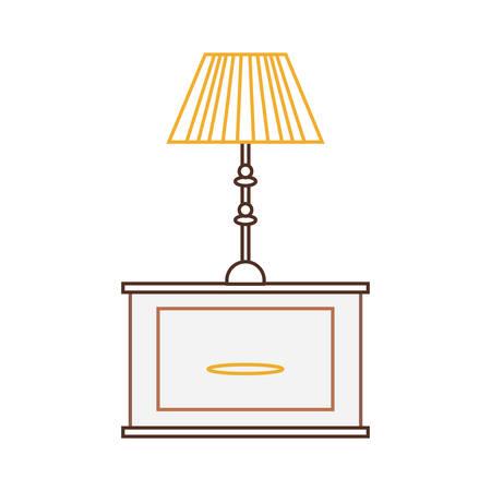 pendant lamp icon image Illustration
