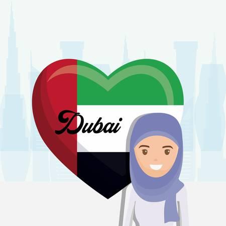 United arab emirates national flag
