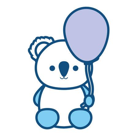 Koala bear illustration.