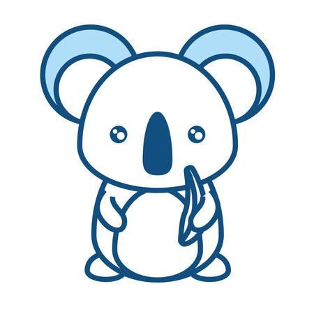 Koala illustration. Illustration