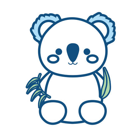 koala  vector illustration