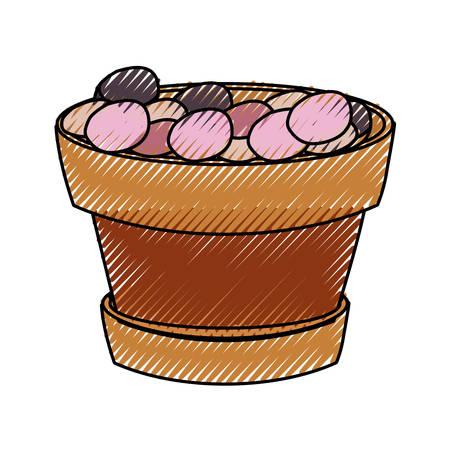 Flowerpot illustration.