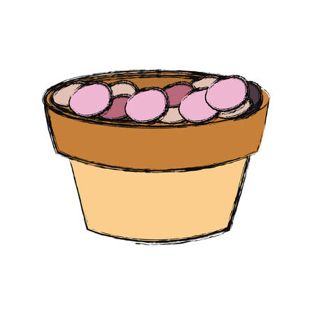 Flowerpot illustration.