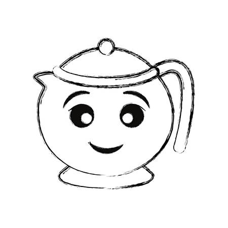 teapot vector illustration