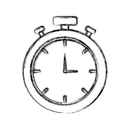 chronometer icon image Vector illustration. Vettoriali