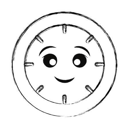 clock icon image Vector illustration.