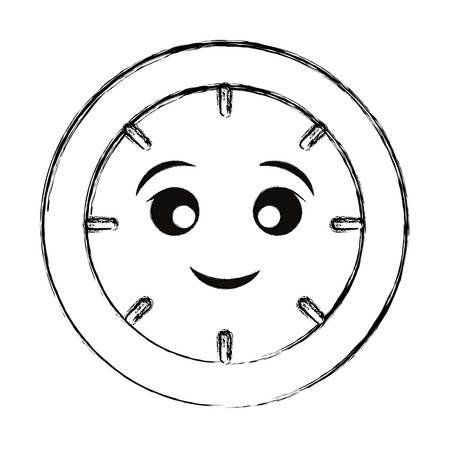 clock icon image Vector illustration.