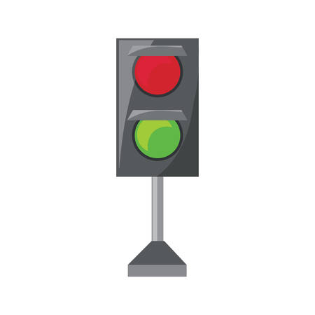 Traffic light icon. Иллюстрация