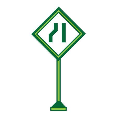 Warning road signs design.