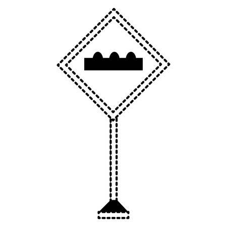 warning road signs design