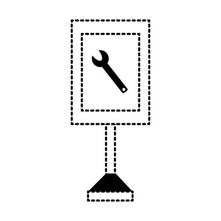 information road sign design  イラスト・ベクター素材