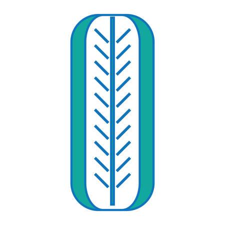 다채로운 디자인 흰색 그림 위에 자동차 타이어 아이콘. 스톡 콘텐츠 - 92397189