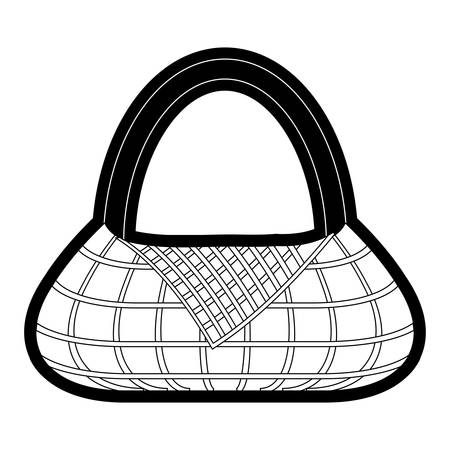 picnic basket icon over white background vector illustration