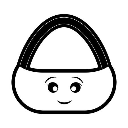 Picnic basket icon vector illustration