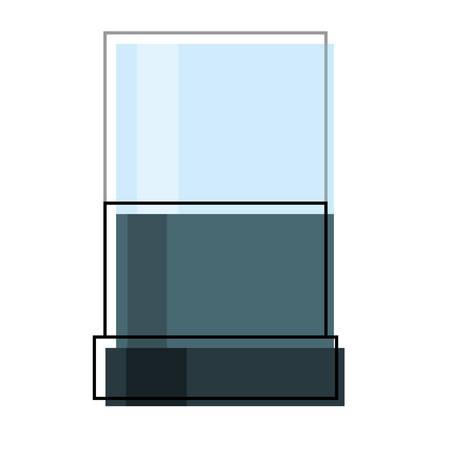 Jewelry showcase icon over white background colorful design vector illustration