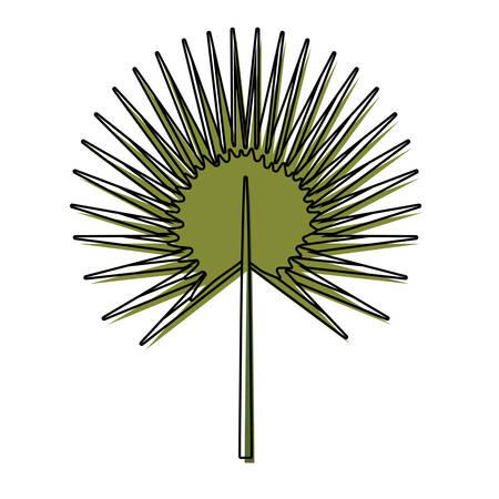 Leaf eco symbol icon vector illustration graphic design Illusztráció