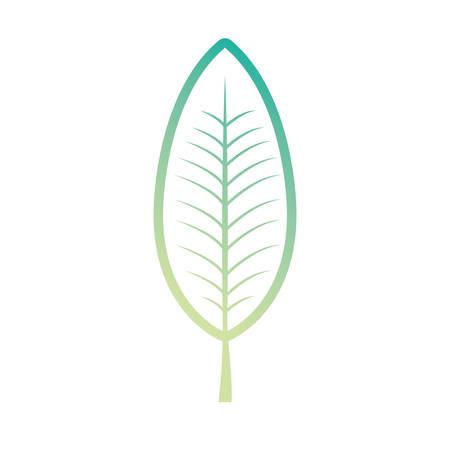 Leaf eco symbol