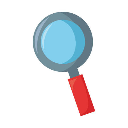 Magnifying glass symbol icon vector illustration graphic design