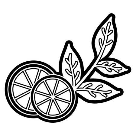 Natural lemon tea icon vector illustration graphic design