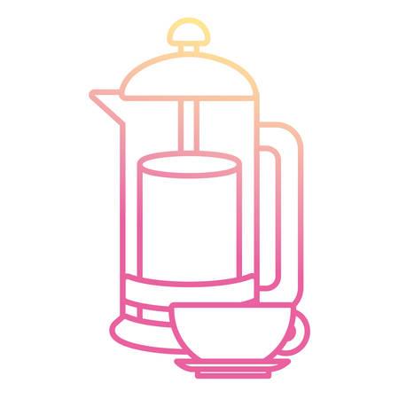 Kettle kitchen utensil icon vector illustration graphic design