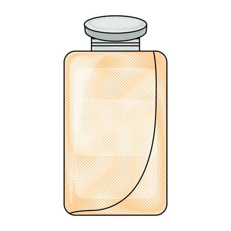 juice box icon over white background vector illustration