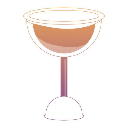 wine glass icon over white background colorful design vector illustration