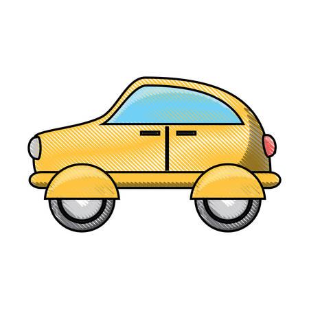 Car icon image. Illustration
