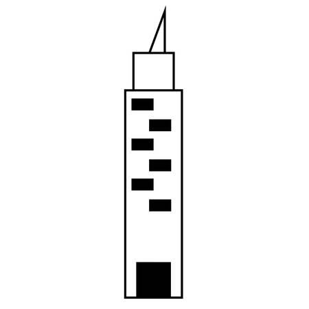 skyscraper icon image 矢量图像