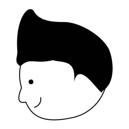 cartoon man icon image