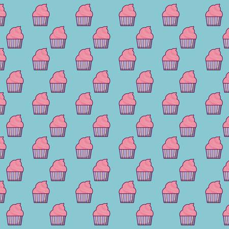 muffins background design