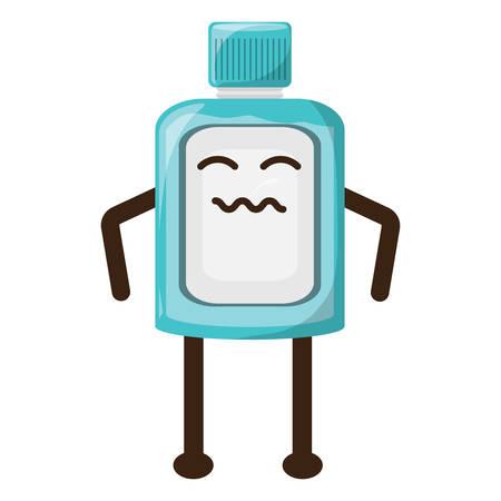 Worried mouthwash icon