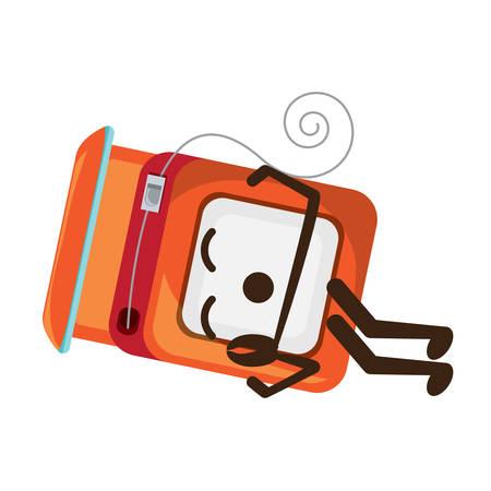 dental floss icon Illustration