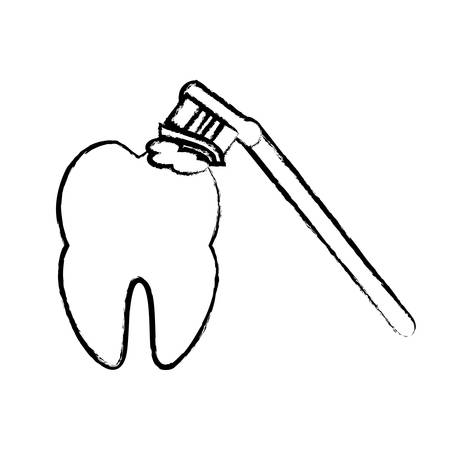 dental care design Vector illustration. Illustration