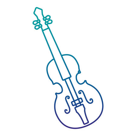 Cello musical instrument icon isolated on white background.