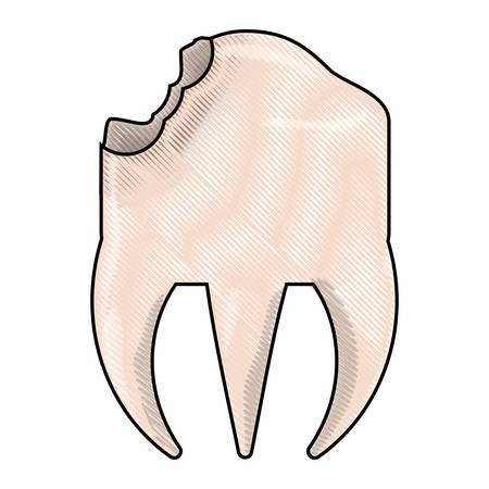 broken molar icon